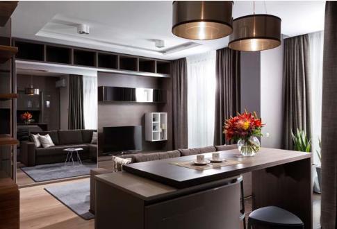 Vẻ đẹp sang trọng của căn hộ chung cư 51m2