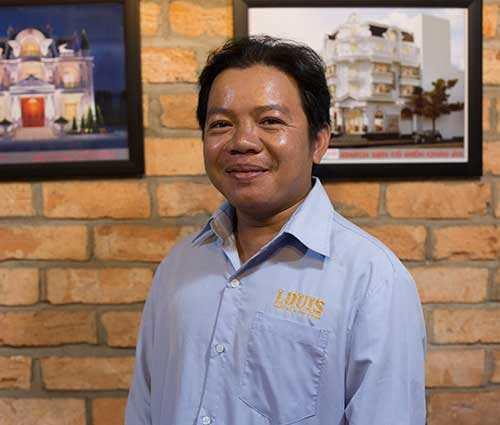 Giám Đốc Xí Nghiệp Thi Công Số 2 công ty LOUIS- Nguyễn Đức Đệ
