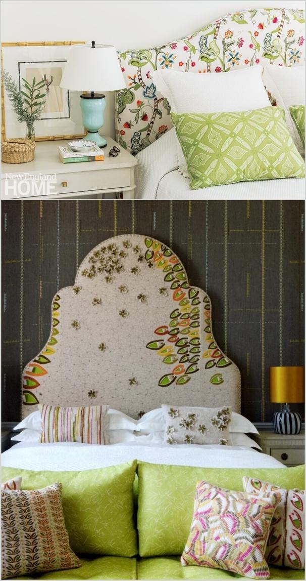 Hô biến căn phòng tinh tế nhờ các họa tiết thêu xinh xắn