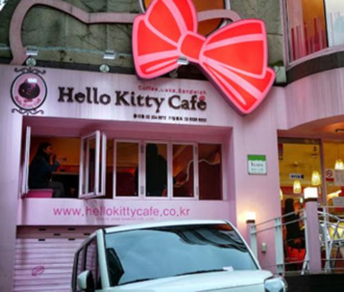 Quán cà phê màu hồng ngang nhiên gây thương nhớ