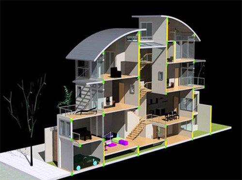 Thiết kế nhà lệch tầng chưa bao giờ là hết hot trong cuộc sống hiện đại