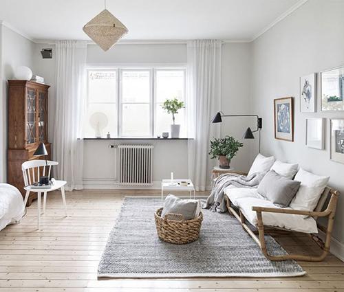 Vẻ đẹp thanh nhã của căn hộ cổ điển mang hơi hướng đồng quê