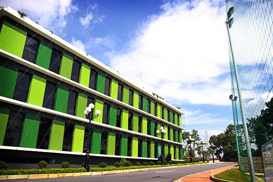 Xanh mát với tòa nhà văn phòng F-ville