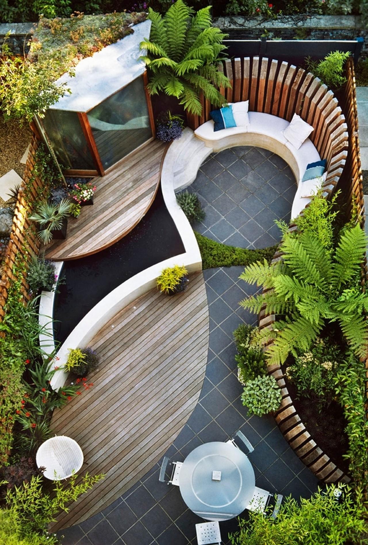 Bật mí các ý tưởng trang trí sân vườn cực chất
