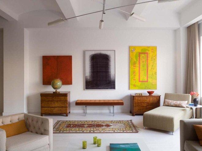 Bật mí cách phối màu cho phòng khách đẹp tinh tế