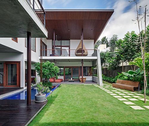 Biệt thự nhà vườn gây ấn tượng bởi sự hòa quyện ăn ý với thiên nhiên
