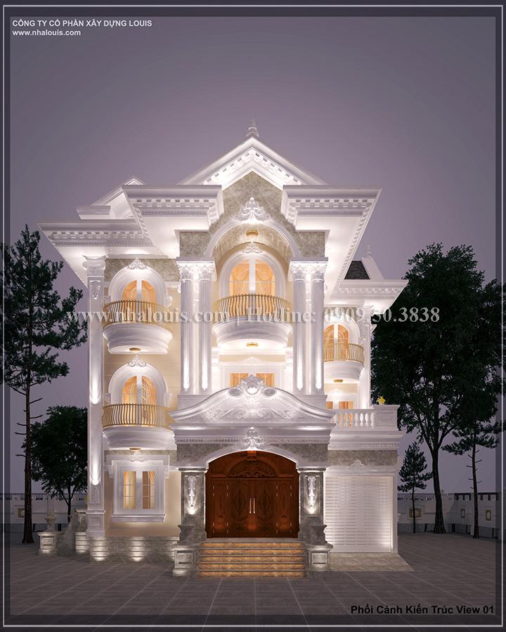 Cải tạo biệt thự cũ thành biệt thự hiện đại đẹp lung linh tại Bình Chánh