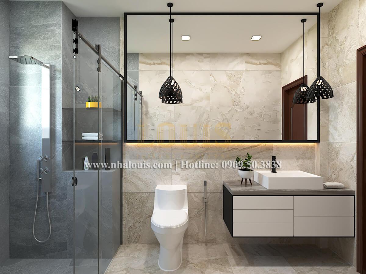 Cải tạo biệt thự tại Bình Chánh - Phòng tắm và WC