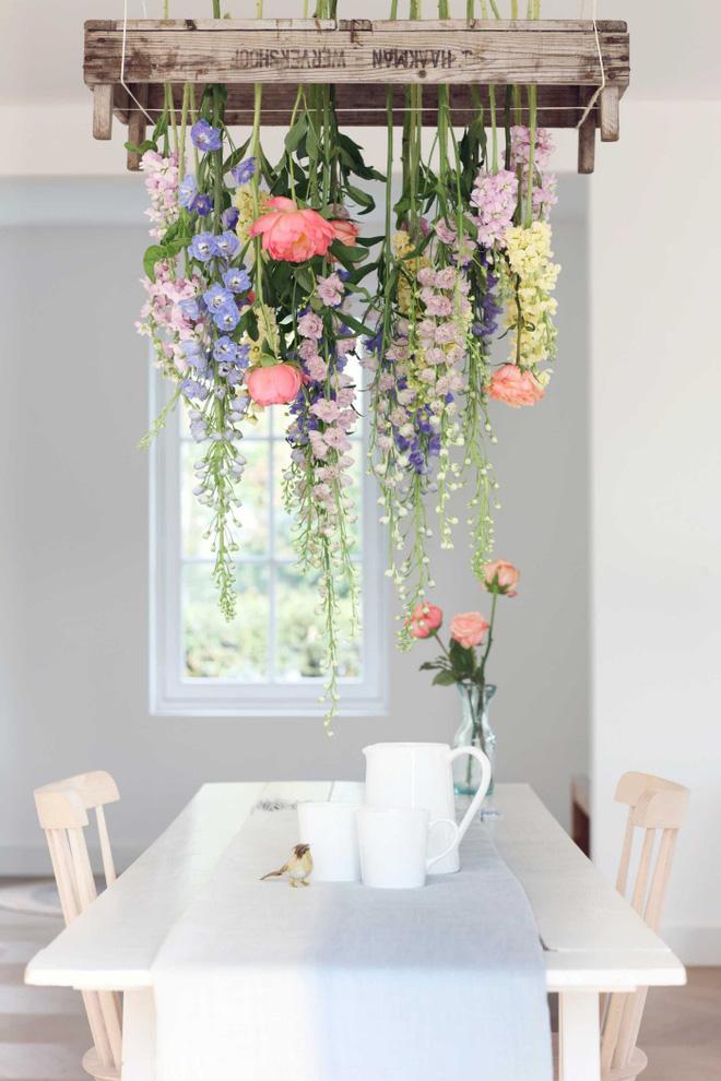 Đèn chùm cho không gian thêm đẹp, cho bữa ăn thêm ngon