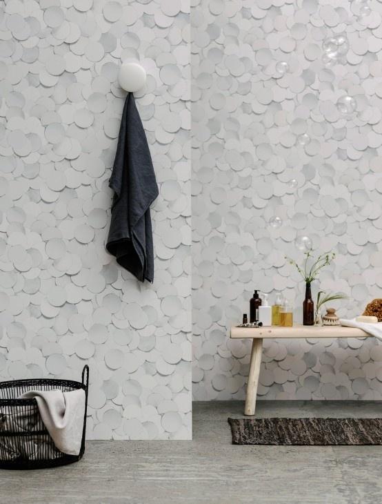 Giấy dán tường 3 chiều cho không gian thêm phần mới lạ