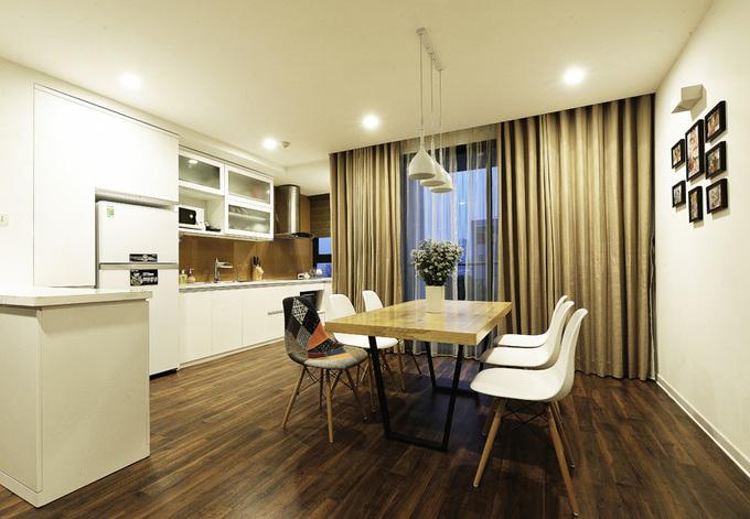 Khám phá căn hộ tối giản đẹp mê ly ở Hà Nội