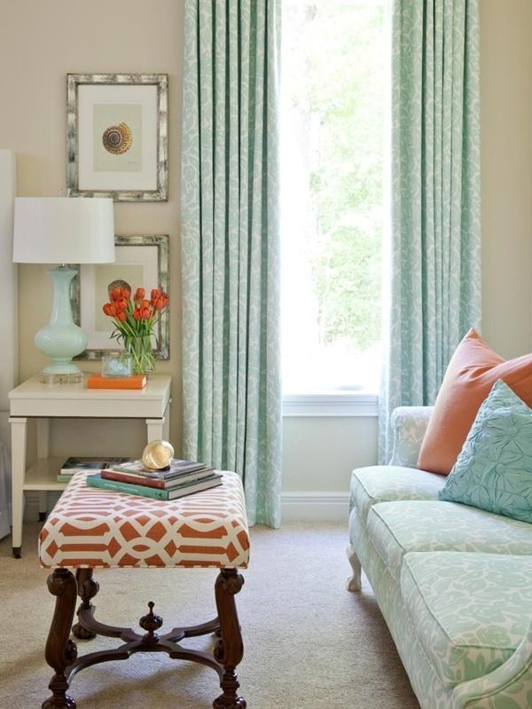 Không gian nhà đẹp cho những tín đồ yêu màu xanh dịu mát