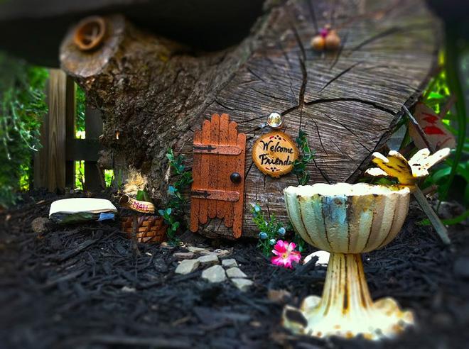 Làm đẹp sân vườn bằng những đồ trang trí siêu đáng yêu