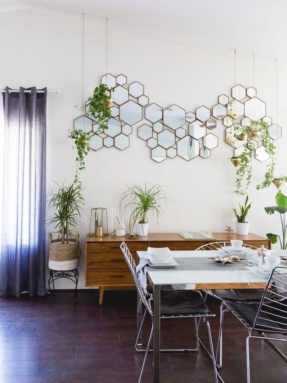 """""""Muôn ngàn"""" cách trang trí nhà với gương cực độc đáo"""