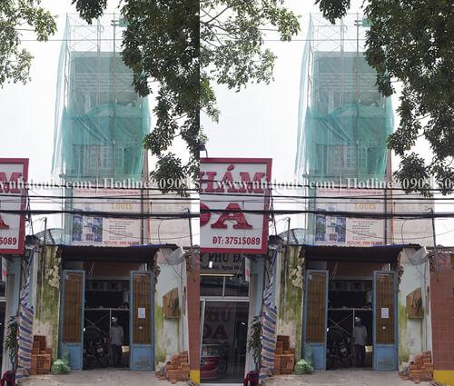 Thi công xây dựng nhà phố 5 tầng hiện đại ở Bình Tân