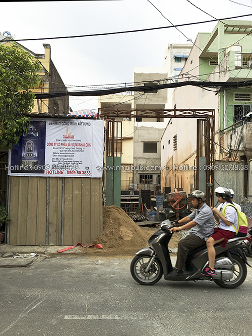 Phía sau không gian nhà phố tân cổ điển đẳng cấp penthouse tại Tân Bình