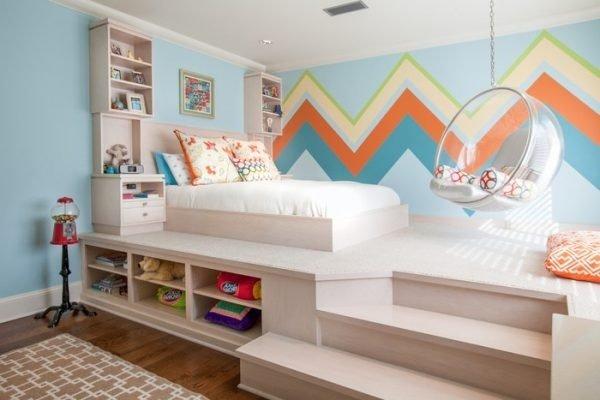 Tác dụng bất ngờ của thiết kế giật cấp đối với nhà có diện tích nhỏ