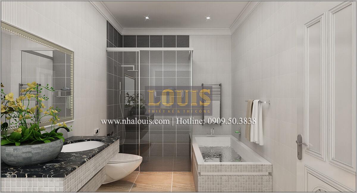 Phòng ngủ con trai Thiết kế biệt thự phong cách cổ điểnđẹp kết hợp kinh doanh tạiĐồng Nai