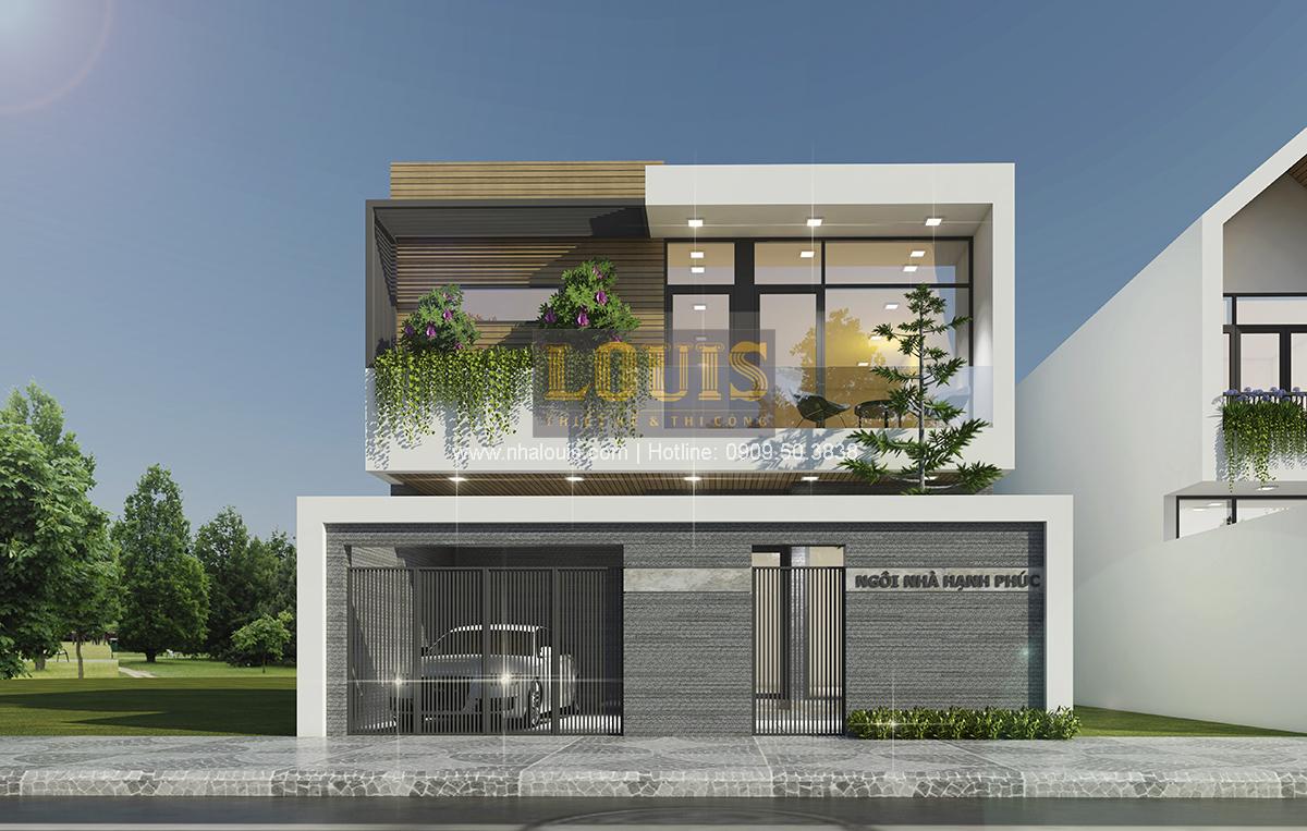 """Thiết kế biệt thự hiện đại """"xanh"""" đang trở thành xu hướng năm 2017"""