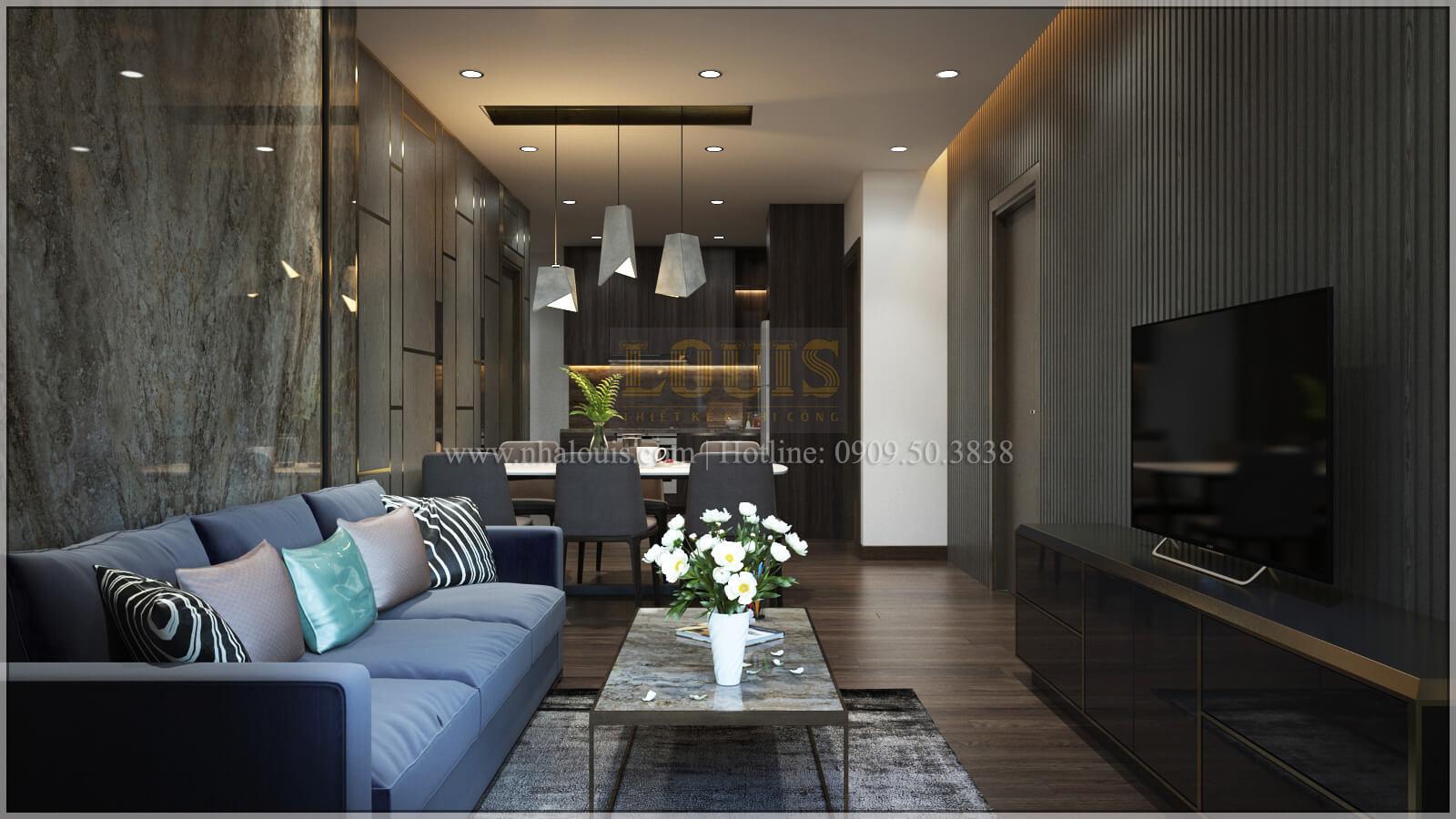 Thiết kế căn hộ The Park Residence với nội thất sang trọng tại quận 7