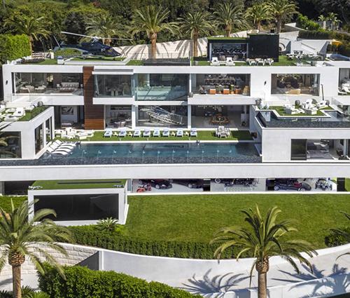 Choáng với siêu biệt thự có tầng hầm đẹp ở Bel Air- Los Angeles