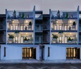"""Đột nhập """"nhà trắng"""" khám phá không gian kiến trúc độc đáo"""