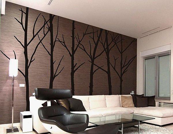 F5 không gian phòng khách với những bức tranh nghệ thuật treo tường