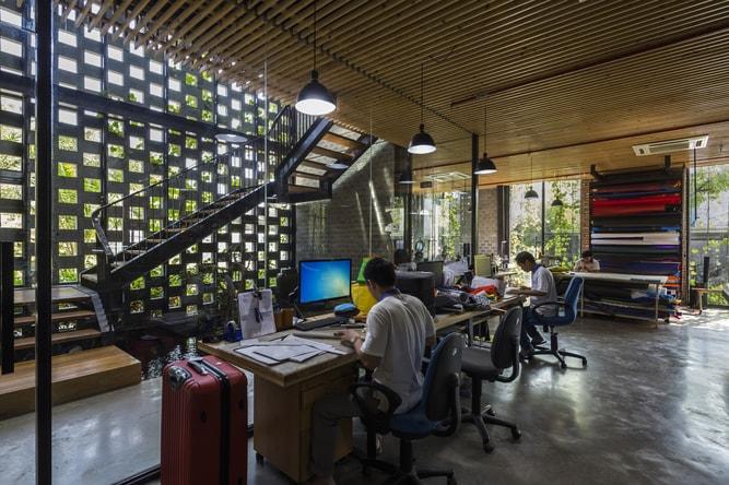 Khám phá không gian văn phòng xanh mướt ai cũng muốn vào làm