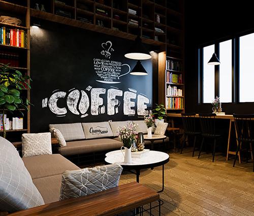 Mách bạn cách thiết kế quán cafe nhỏ đẹp hút khách