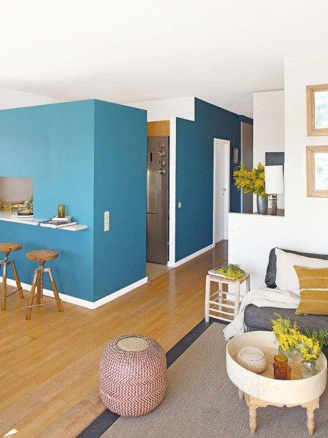 Ngắm căn hộ chung cư 50m2 theo đuổi phong cách Địa Trung Hải