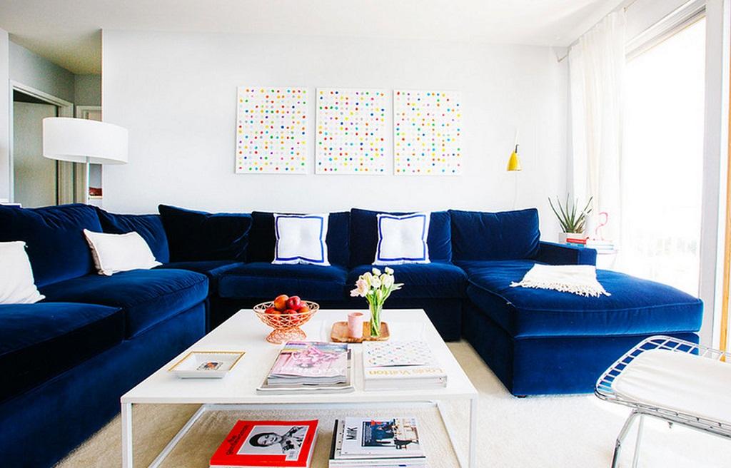 Những chiếc ghế sofa xanh- Đơn giản nhưng làm nên chuyện