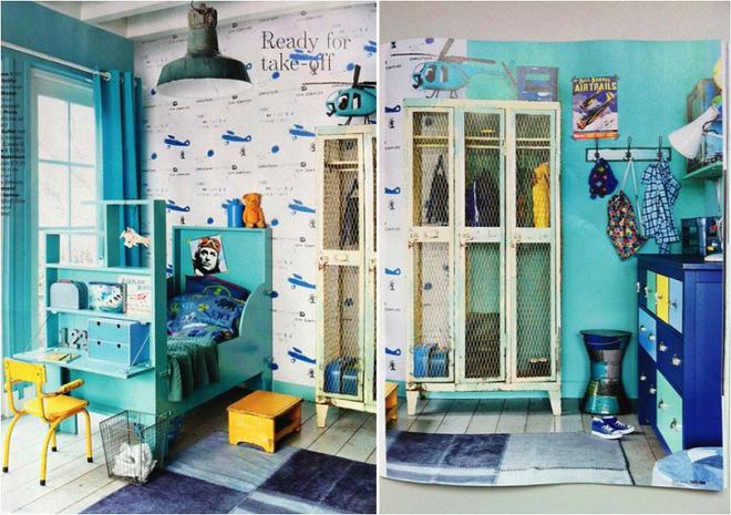 Những phòng ngủ trẻ em phong cách vintage duyên dáng