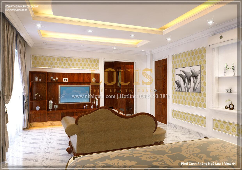 Phòng ngủ Sửa chữa cải tạo nhà cũ tân cổ điển đẹp sang trọng tại quận 3