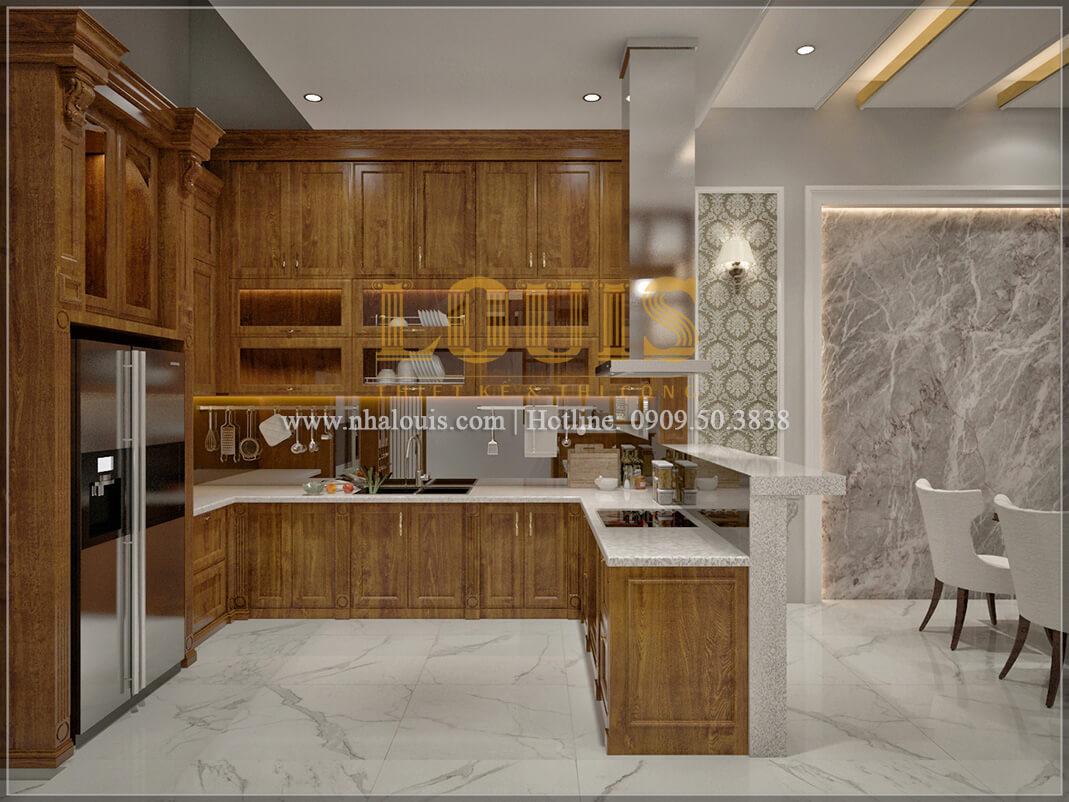 Phòng ăn và bếp Sửa chữa cải tạo nhà cũ tân cổ điển đẹp sang trọng tại quận 3