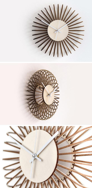 Tham khảo những mẫu đồng hồ trang trí nhà đẹp hết ý