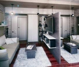 Thật khó tin khi không gian căn hộ này chỉ vỏn vẹn 21m2
