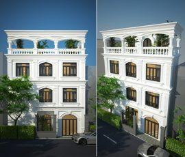 Nội thất nhà tân cổ điển ở Phú Nhuận đẹp sang trọng [Video]