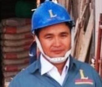 Đội Trưởng Thi Công Sơn công ty LOUIS- Nguyễn Trung Kiên