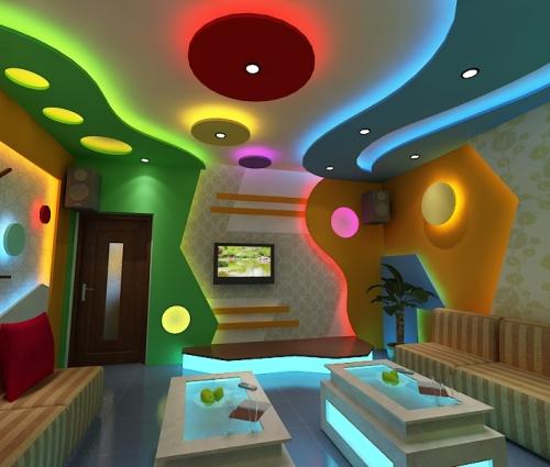 Mẫu phòng karaoke đẹp nhỏ gọn, xinh xắn
