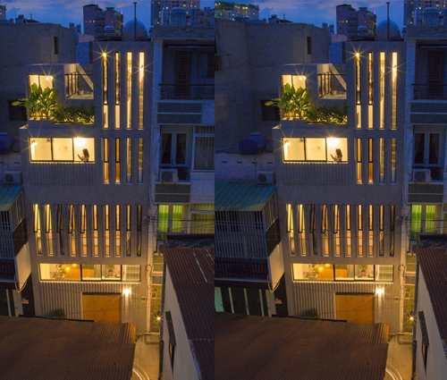 Nhà phố đẹp và tiện nghi bất chấp diện tích nhỏ hẹp