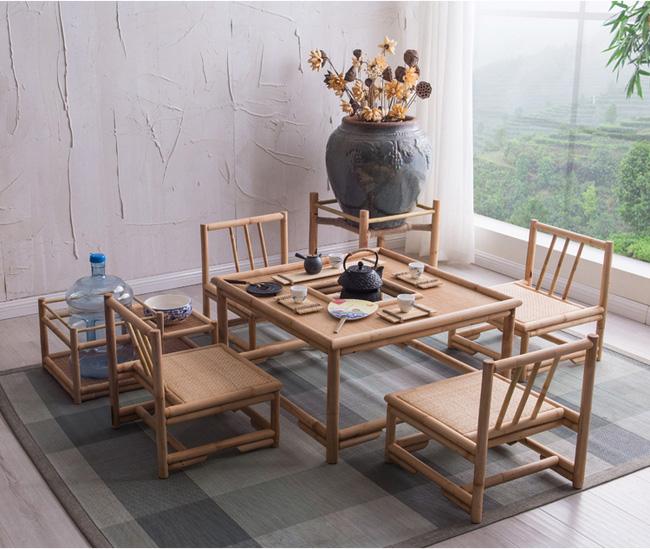 Những mẫu bàn ghế bằng mây tre đan đẹp đến bất ngờ