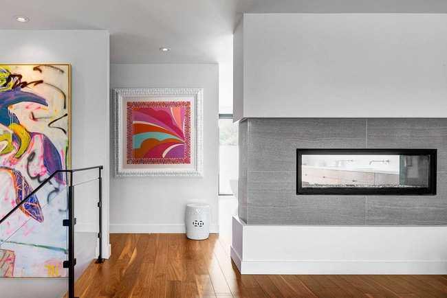 Thiết kế biệt thự mini 2 tầng gây ấn tượng bởi sự đối lập trong ngoài