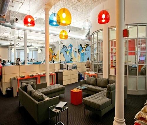 Những mẫu thiết kế văn phòng startup đẹp ngất ngây