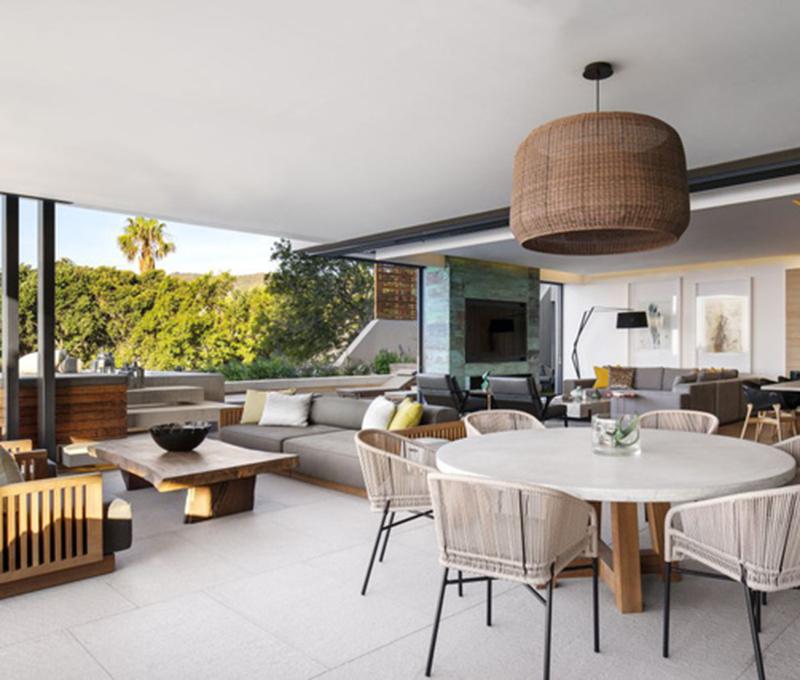 Chiêm ngưỡng không gian căn hộ hiện đại tuyệt đẹp ở Nam Phi
