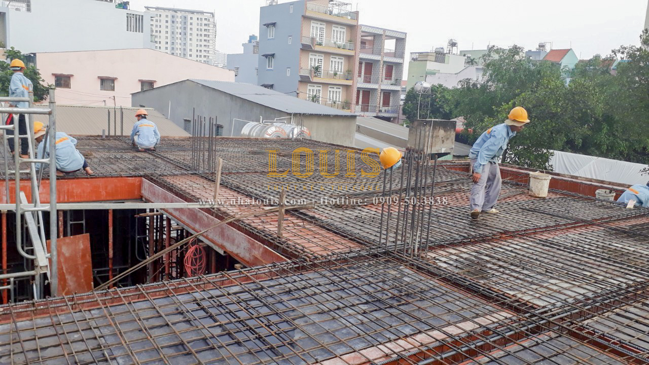 Hoàn thành dự án thi công biệt thự tân cổ điển 3 tầng tại Tân Phú