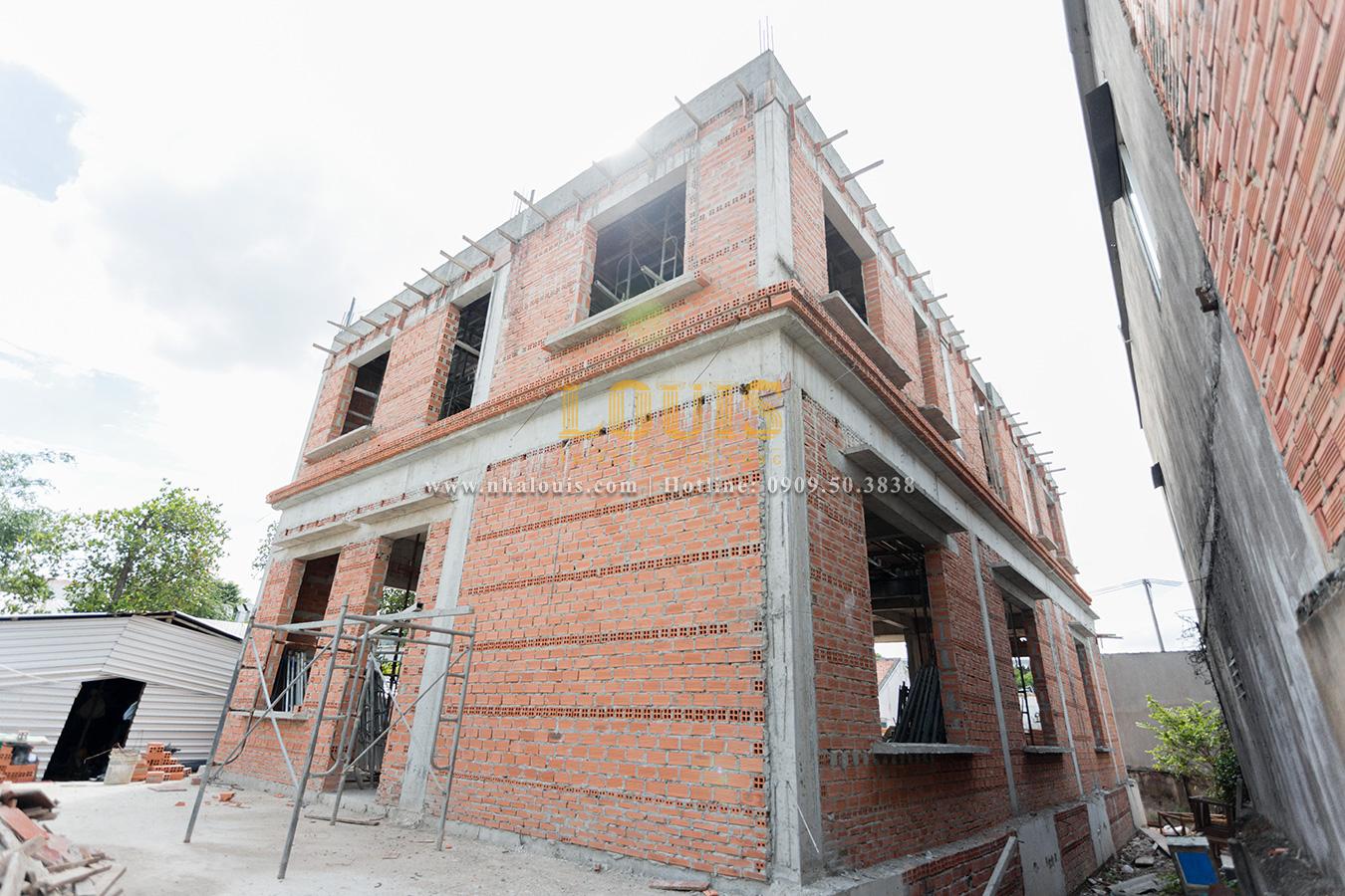 Nhật ký công trình: Dự án thi công biệt thự tân cổ điển Tân Phú