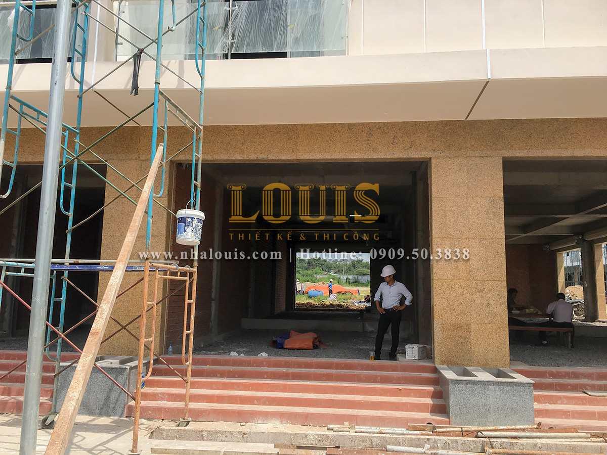 Khảo sát thi công thực tế xây dựng 11 căn nhà phố liền kề tại Biên Hòa - 01