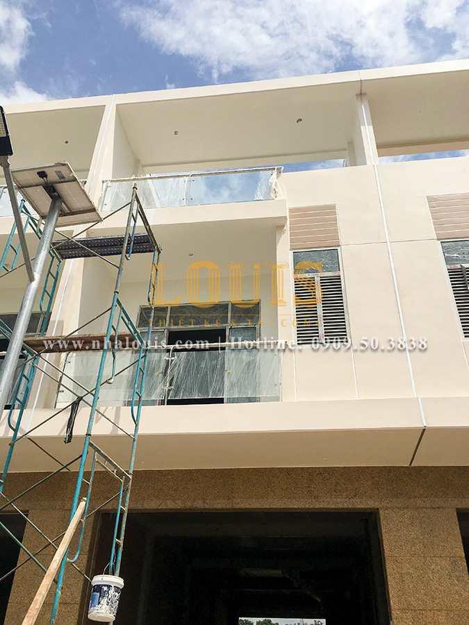 Khảo sát thi công thực tế xây dựng 11 căn nhà phố liền kề tại Biên Hòa - 02