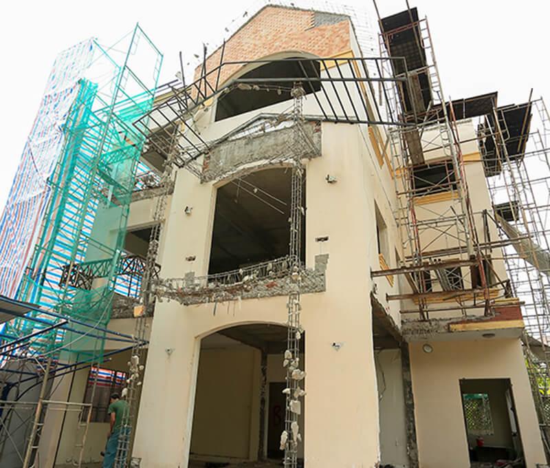 Nhận thi công xây dựng, đâu là công việc của nhà thầu sẽ thực hiện để phục vụ khách hàng