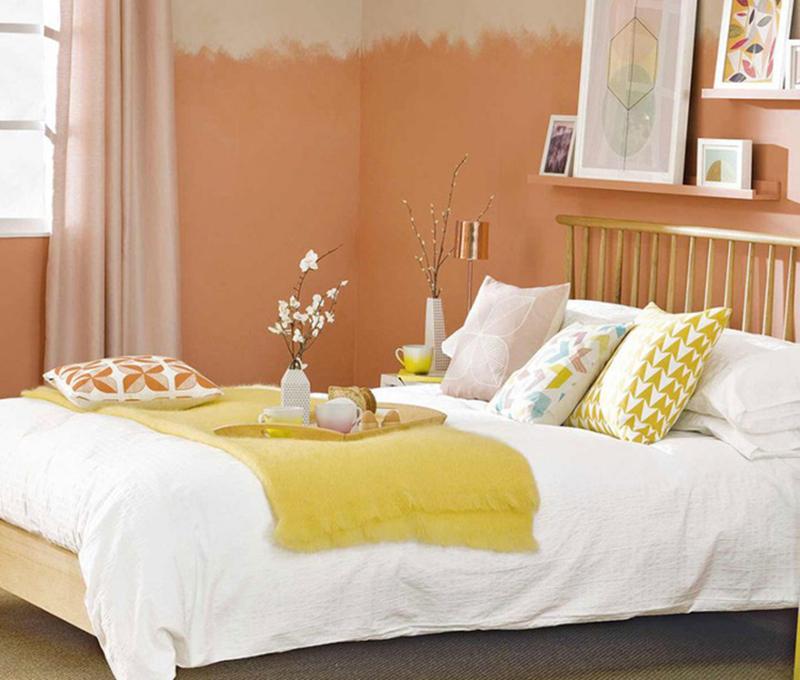 Ngập tràn sức sống với những phòng ngủ nhiều màu sắc